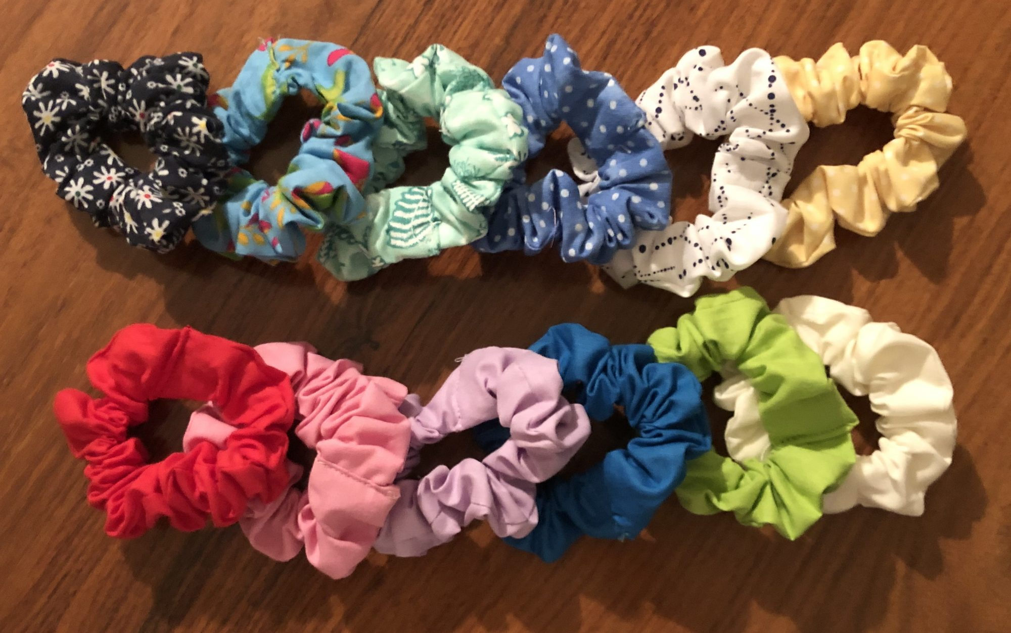 Sew Many Scrunchies